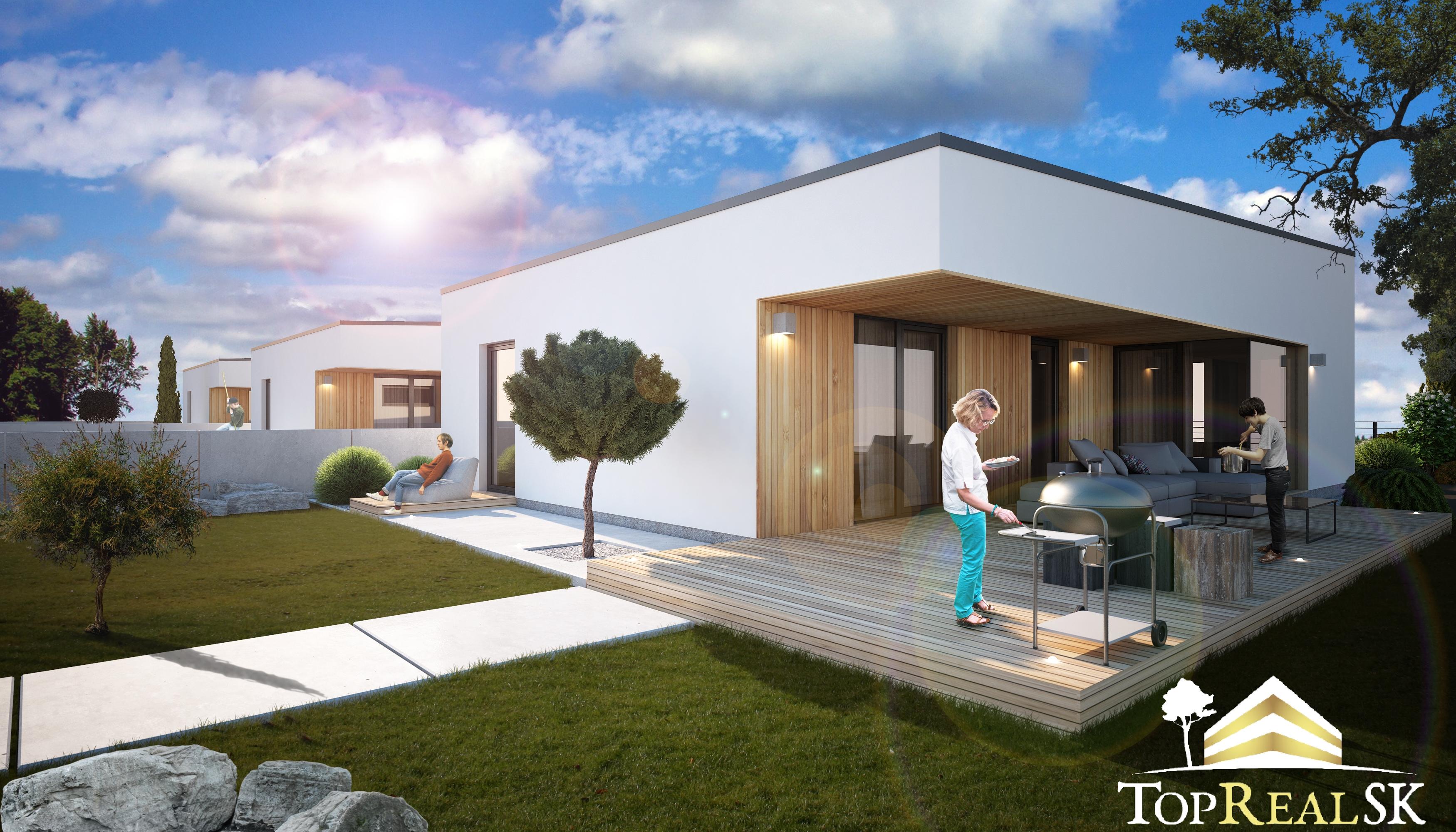 TopRealSK – Exkluzívne ponúkame na predaj 4 izbový RD v novo vybudovanej lokalite rodinných domov, v obci Nová Dedinka – zóna Lastovičky
